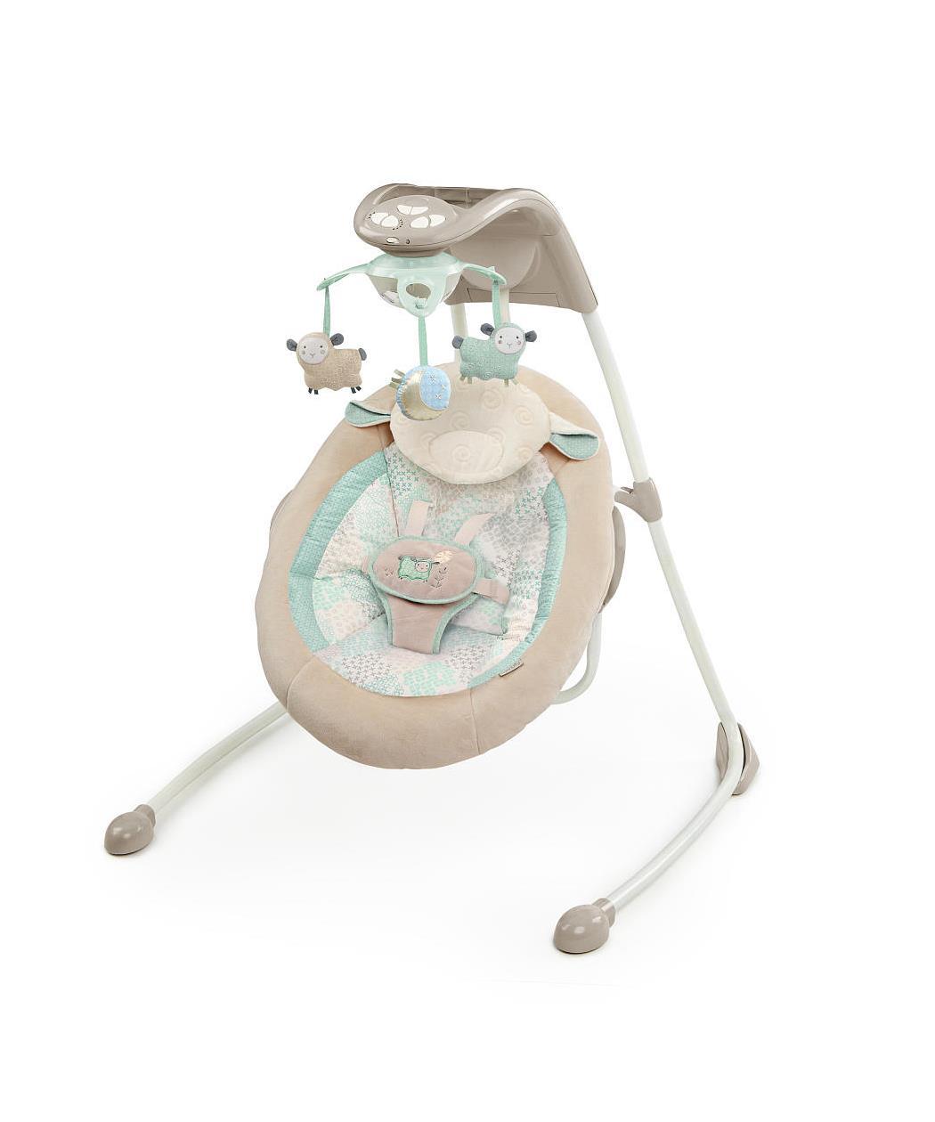 za bebe Ingenuity Lezaljka/ljuljaska za bebe sa ovcicama 60360