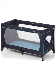 Hauck Dream'n play Plus prenosivi krevetac za bebe Navy aqva