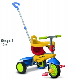 Smart Trike tricikl 3u1 Breeze Multucolor