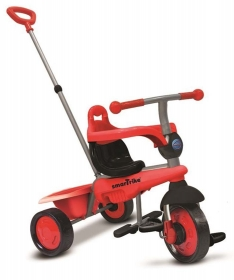 Smart Trike tricikl 3u1 Breeze Red
