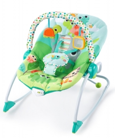Kids II Lezaljka za bebe Playful Parade Baby to Big Kid Rocker SKU 10886